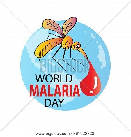 World Malaria Day. Concept Design For Brochure, Poster And Banner.