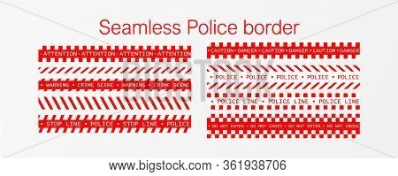 Barricade Tape, Do Not Cross, Police, Crime Danger Line, Bright Red Official Crime Scene Barrier Tap