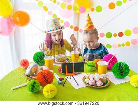 Phenomenal Children Virtual Image Photo Free Trial Bigstock Funny Birthday Cards Online Barepcheapnameinfo