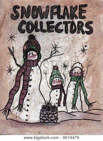 Sign Snowflake Collectors