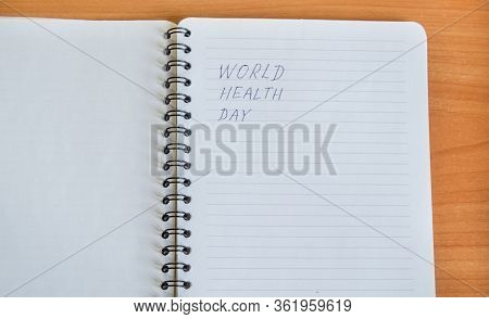 No Smoking, Anti-tobacco, World No Smoking Day, Top View Of A Notepad With The Concept Of Quitting S