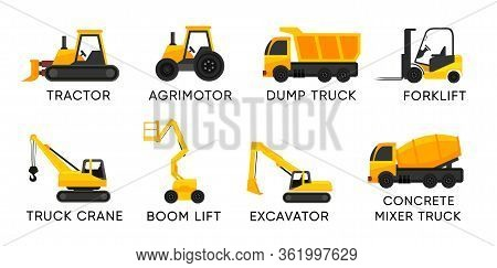 Forklift With Boom Lift And Others Trucks
