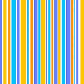 Vertical stripes in blue violet and orange colors poster