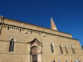 Arezzo - the Gothic Cathedral of Saint Donatus poster