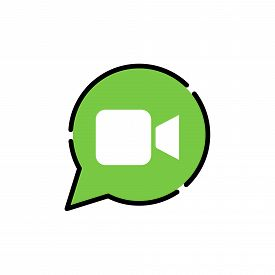 Video, Video Call Icon, Video Call Vector, Video Call Icon vector, Video Calling icon, Video Call vector icons, Video Call app icon. Video Call Icon Vector Illustrattion. Video Call icon flat design vector for web icons, symbol, logo, sign, UI.