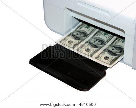 Copier Printing Cash.