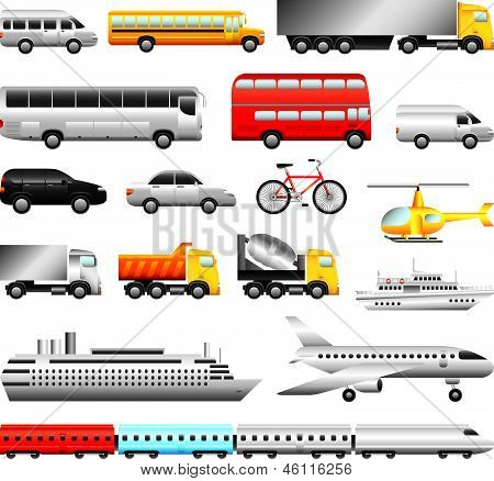 große ausführliche Vektor Transportgruppe