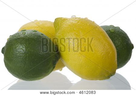 Limes With Lemons