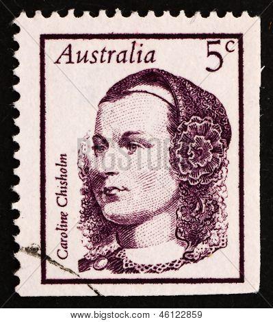 Postage Stamp Australia 1968 Caroline Chisholm, Social Worker, R