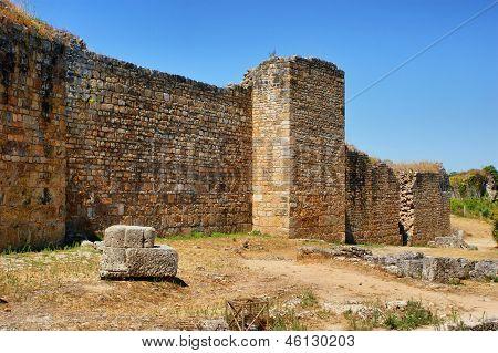 Great wall of Conimbriga