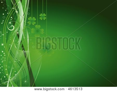 St Patricks Day Background