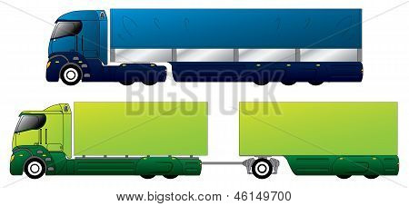 Aerodynamic Trucks