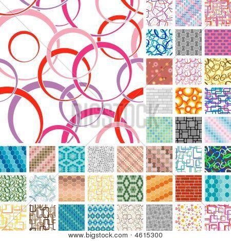 Many Seamless Patterns
