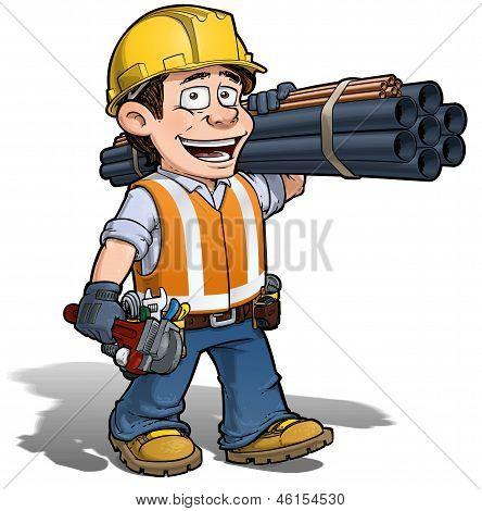 Construction Worker - Plumber