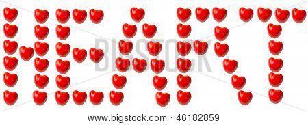 Tomatoes as heart word
