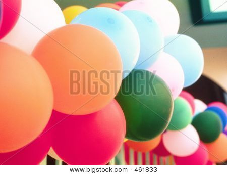 Wave Of Balloons