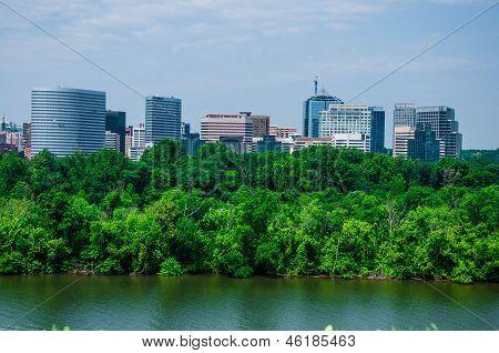 Washington DC by the Potomac river, USA