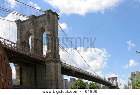 Brooklyn Bridge Side View