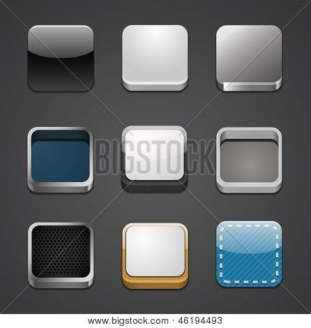 App icon backgrounds set