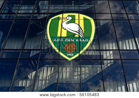 NETHERLANDS, THE HAGUE - DECEMBER 2013: Kyocera stadium premier league football club ADO Den Haag.