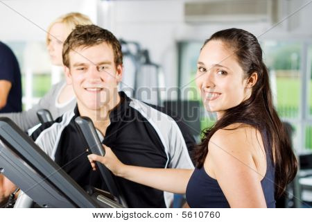 Personal Trainers Giving Instruction