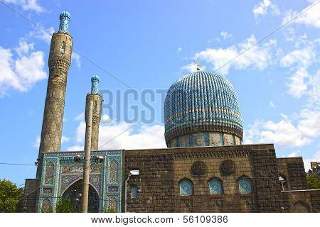 Central Muslim Mosque In St. Petersburg