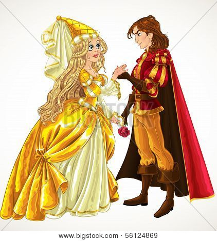 Prince and Princess in love