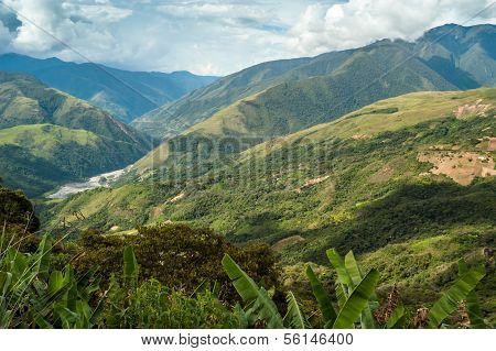 Coroico Mountains