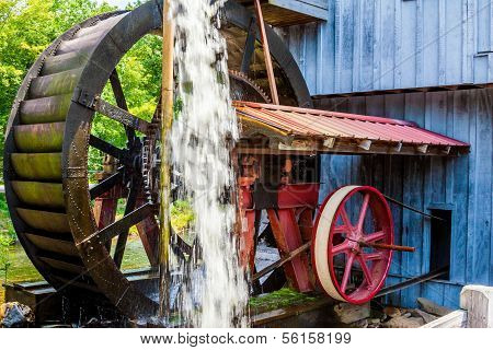 Antique Water Wheel