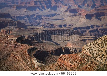 View of a Grand Canyon in Arizona, USA