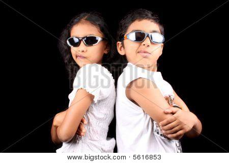 Siblings In A Fight