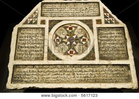 Commemoration Stone In Four Languages