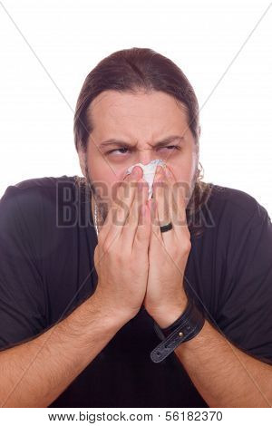 Influenza And Stuffy Nose