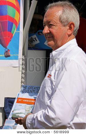 Brian Jones co-pilot of the first successful uninterrupted balloon circumnavigation of the world
