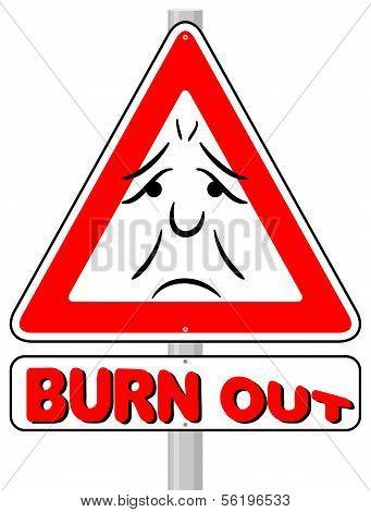 Burnout Warning Sign