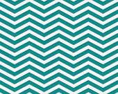 Dark Teal and White Zigzag Textured Fabric Background that is seamless and repeats poster