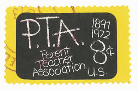 United States Stamp of Parent Teacher Association