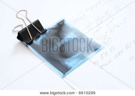 Clip Holding Document