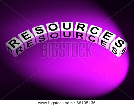 Resources Dice Mean Collateral Assets And Savings