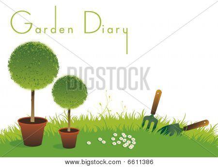 Gardening Diary Cover