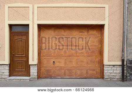 wooden door for car