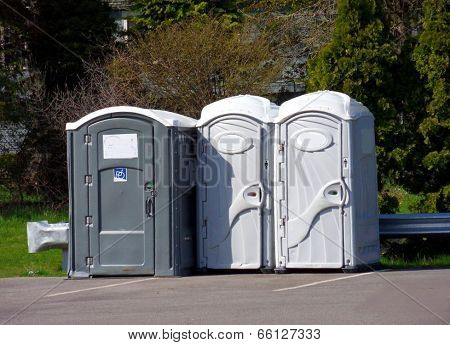 Outdoor Portable Potty Stations