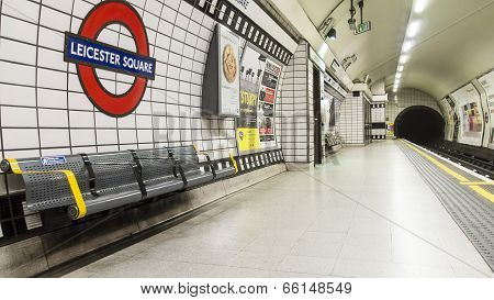 London Leicester Tube Station