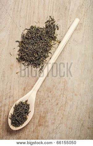 Loose Dried Green Tea