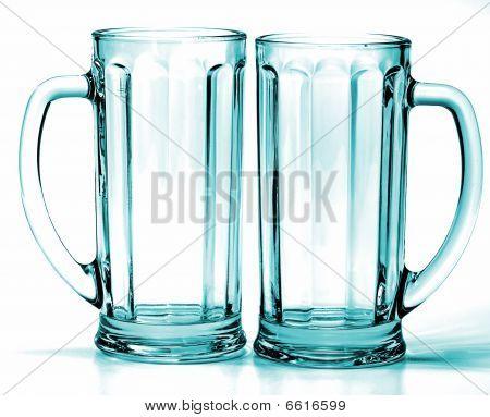 Empty Glass Isolated