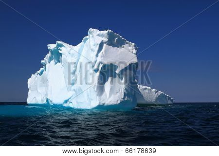On Iceberg Alley Already Losses Part Of Its Ice Mass