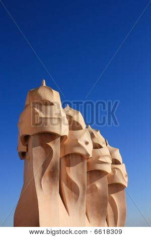 Barcelona And Gaudi: La Pedrera Or Casa Mila