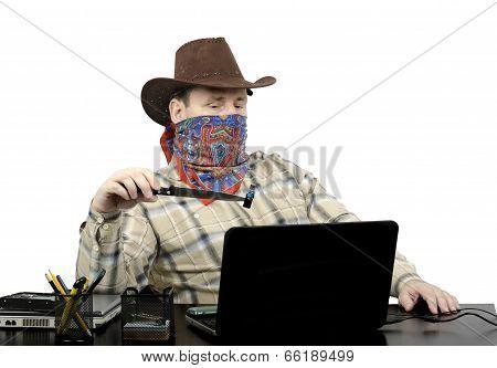 Blackmailer Threatening With Stolen Usb Flash Drive