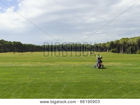 Golf Training Field For Beginners