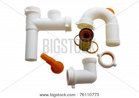 Home Pvc Pipes Set For Sink